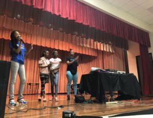 DJ T.O. Speaks At A School