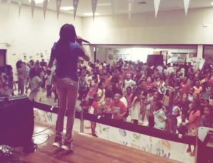 DJ T.O. Speaking At Elementary School