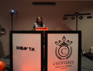 Chi'Nyere's Sweet 16